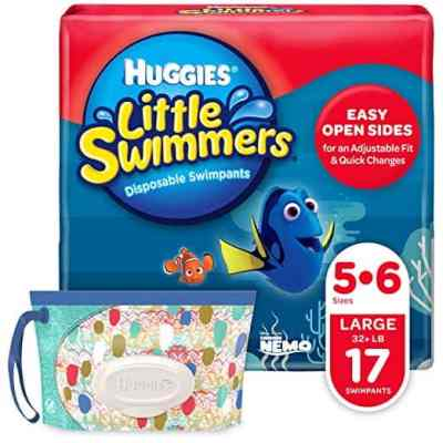 Amazon : Huggies Little Swimmers Disposable Swim Diapers, Swimpants, Size 5-6 Large (Over 32 lb.) Just $6.29 - $9.89 W/50% Off Coupon (Reg : $13.29) (As of 6/19/2019 8.01 PM CDT)