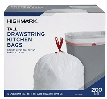 Office depot : CHEAP TRASH BAGS !