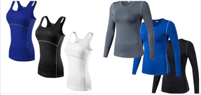 Amazon : Women's 3 Pack Compression Shirt Just $12 - $15 W/Code (Reg : $39.99-49.99) (As of 6/26/2019 10.54 AM CDT)