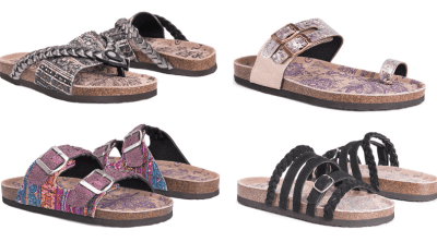 Zulily : Muk Luks Sandals – Lots of Style Only $12.50 (Regular up to $48)!