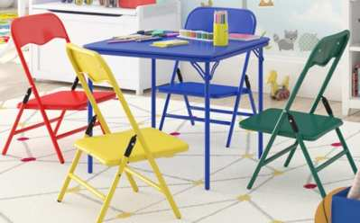 Kids Table & Chair Sets Sale Up to 56% Off (Starting at JUST $24) – So Many Styles!