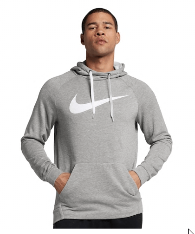Kohl's Clearance : Men's Nike Pull-Over Dri-FIT Swoosh Hoodie for $16.50 (reg: $55) + Free Shipping