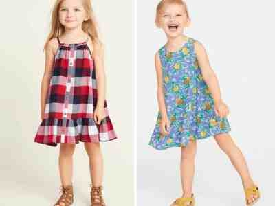OLDNAVY : Women's, Girl's, Toddler & Baby Girl's Dresses as Low as $5