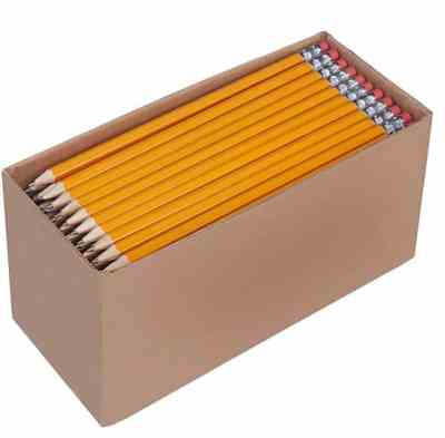 Amazon : 150 Pack Pre-sharpened Wood Cased #2 HB Pencils Just $9.99 (Reg : $12.49) (As of 7/31/2019 3.16 PM CDT)