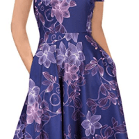Amazon : PRIME DAY DEAL Women's Floral Vintage Dress Just $10.49 W/Code (Reg : $20.99) (As of 7/16/2019 11.39 PM CDT)