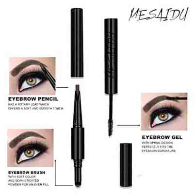 Amazon : 3-in-1 Eye Makeup Eyebrow Pencil, Blender, Brush All In One Just $6.40 W/Code (Reg : $15.99) (As of 7/23/2019 11.54 AM CDT)