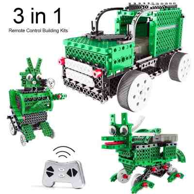 Amazon : 3 in 1 STEM Green Robot Building Kit Just $21.84 W/Code (Reg : $51.59) (As of 7/23/2019 11.50 PM CDT)