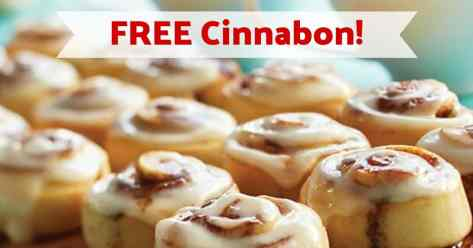 FREE Cinnabon Treats! (No Cinnabon Coupons Needed)