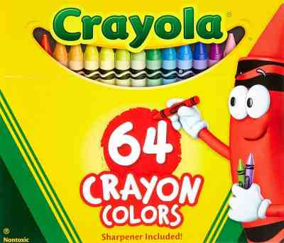 Amazon : Crayola 2 Pack 64 Ct Crayons Just $5.88 (Reg : $10.71) (As of 7/12/2019 11.49 AM CDT)