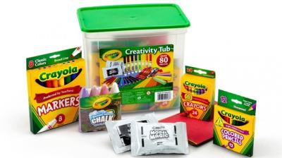 Crayola 80-Piece Creativity Tub ONLY $10.78 + FREE Pickup (Regularly $17)