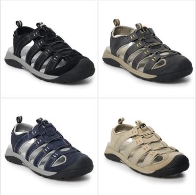 Kohl's : SALE‼️ $15.99 W/Code (Reg $59.99) Croft & Barrow Combs Men's Fisherman Sandals