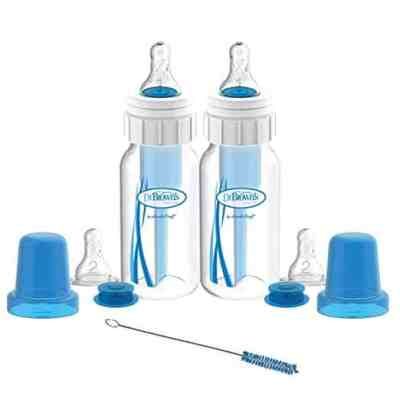 Amazon : Dr. Brown's Original Bottle Specialty Feeding Set, 4 Ounce, 2-Pack Just $9.20 W/Code (Reg : $19.99) (As of 7/23/2019 12.14 PM CDT)