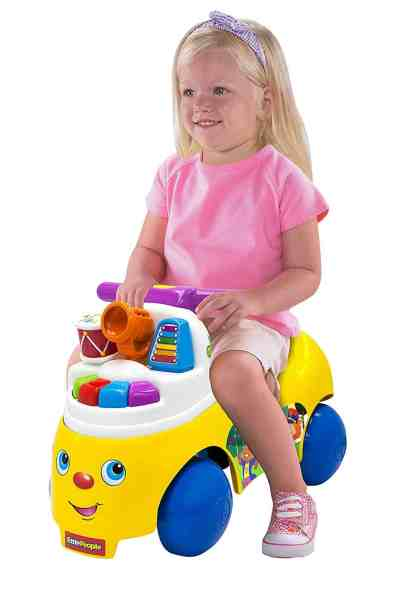 Amazon : PRIME DAY DEAL Fisher-Price Little People Melody Maker Ride-On [Amazon Exclusive] Just $17.89 (Reg : $39.99) (As of 7/16/2019 10.24 PM CDT)