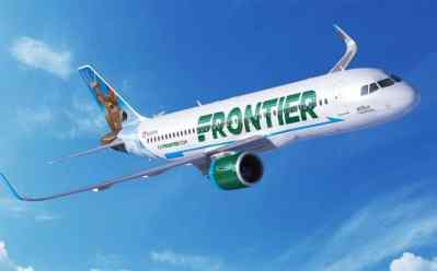 One Way Flights Starting at JUST $25 at Frontier Airlines – Ends Today!