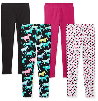 Amazon : PRIME DAY DEAL Girls' Toddler & Kids 4-Pack Leggings Just $10.99 (Reg : $20.99) (As of 7/16/2019 2.01 PM CDT)