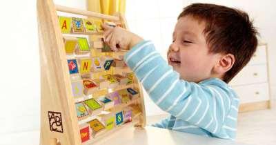 Hape Alphabet Abacus Only $10 at Amazon (Regularly $25)