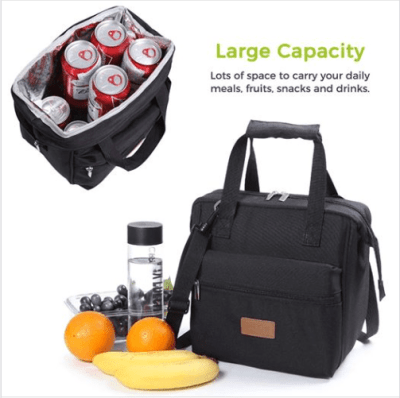 Amazon : Insulated Lunch Bags Just $4.99 (As of 7/13/2019 10.12 PM CDT)