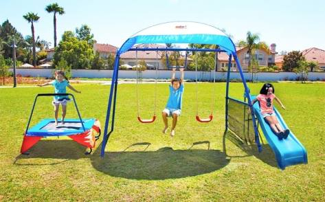 IronKids Fitness Playground Swing Set for ONLY $199 + FREE Shipping (Reg $399)