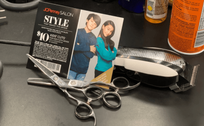 JCPenney Salons: $10 Kids Haircut Coupon