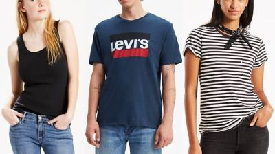 Levi's Apparel Over 80% Off – Starting From Only $2.49 (Regularly $20)