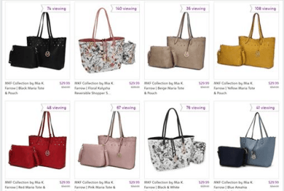 Zulily : ‼️SALE‼️ $29.99 (Reg $229.99+) MKF Collection Totes