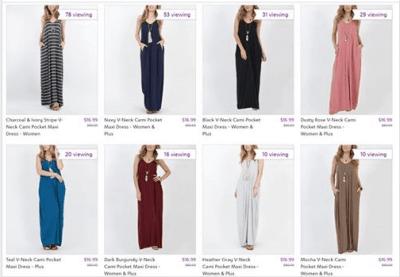 Zulily : SALE ! $16.99 (Reg $60) Maxi Dresses