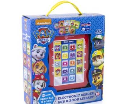 Amazon : Nickelodeon - Paw Patrol Me Reader Electronic Reader and 8-Book Library - PI Kids Hardcover Just $17.99 (Reg : $32.99) (As of 7/21/2019 3.35 PM CDT)