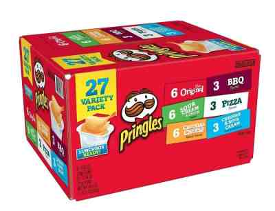 Walmart : Pringles Potato Chips Variety Pack, 19.5 Oz., 27 Count Just $5 (Reg : $8.98)