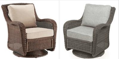 Kohl's : Swivel Rocking Chair Just $246.99 (Reg : $549.99)