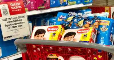 Target: FREE $30 Gift Card w/ $100 Baby Department Purchase