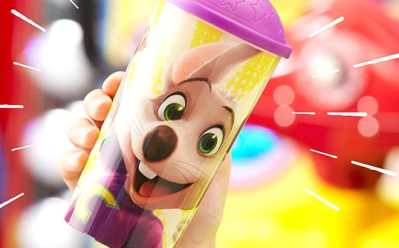Unlimited FREE Lifetime Refills With Limited-Edition Chuck E. Cheese Cup Purchase