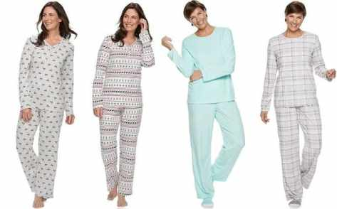 *HOT* Croft & Barrow Pajama Sets Starting at JUST $8 + FREE Shipping (Reg $40)