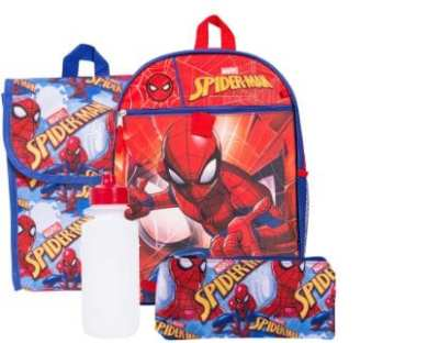 Marvel Spiderman Backpack and Lunch Box Set for $19.99 Shipped!