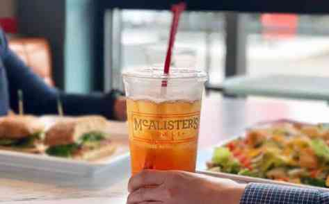 FREE Sweet Iced Tea at McAlister's Deli (Today Only) – No Purchase Needed!