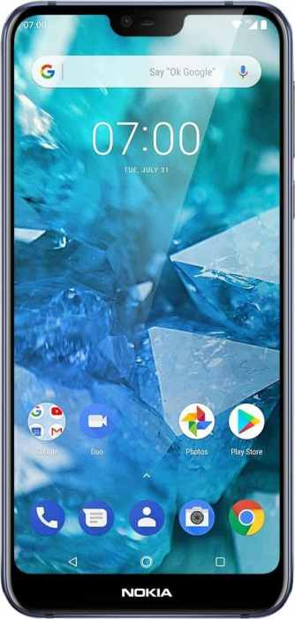 Nokia - 7.1 with 64GB Memory Cell Phone (Unlocked) - Blue for $199 (reg: $349)