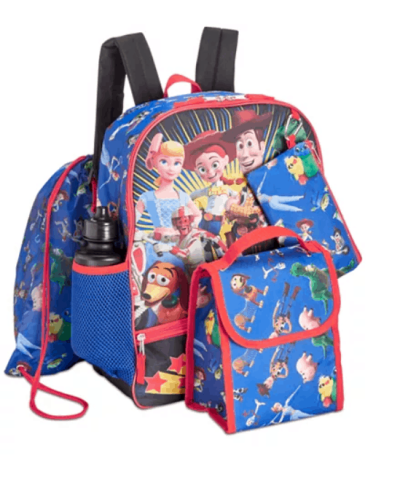5 piece character back pack sets are $15.99 right now!!