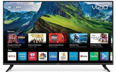 VIZIO 50″ LED 4K UHD Smart TV $299.99 + $100 Dell Gift Card & FREE Shipping!