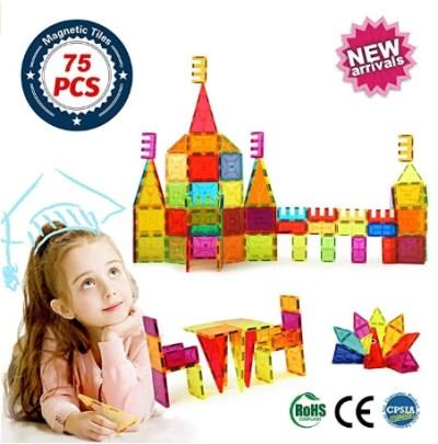 75 Pcs Magnetic Blocks Building Set for $39.95 Shipped! (Reg. Price $69.99)