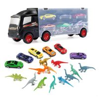 Amazon : Car Toys Diecast Transport Carrier Truck Dinosaur Toys Just $7.19 W/Code + 10% Off Coupon (Reg : $17.99) (As of 8/23/2019 7.32 PM CDT)