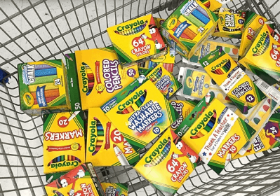 Zulily : RUN! Up to 45% off Crayola School Supplies – From $2 (Get Ready for School!)