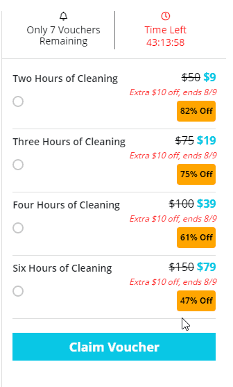 Dazzling House Cleaning Deal