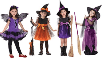 Amazon : Girls Funny Mesh Halloween Cosplay Party Dress Just $12.98 - $14.98 W/Code (Reg : $32.45 - $37.45) (As of 8/24/2019 1.28 PM CDT)