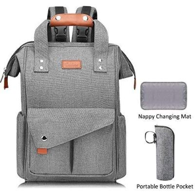 Amazon : Large Diaper Bag Backpack Just $12 W/Code (Reg : $39.99) (As of 8/24/2019 10.40 AM CDT)