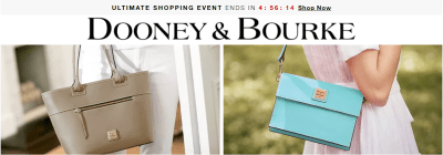 Macy's : Dooney & Bourke Ladies' Bags Up to 60% Off – Starting at ONLY $28!