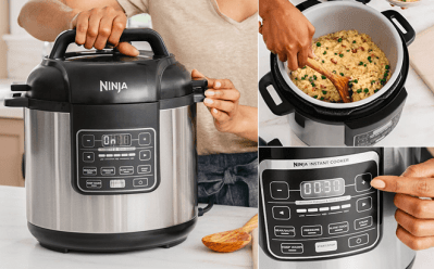 Ninja Instant Cooker from ONLY $41.99 + FREE Shipping (Reg $160) – Today Only!