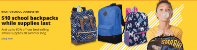 RUN! $10 Backpacks at Office Depot Back Again This Week! (Reg $30) – Selling Fast!