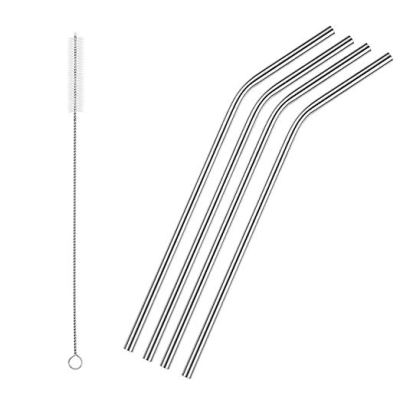 Amazon : Set of 4 Reusable Stainless Steel Straws Just $3 W/Code (Reg : $9.99) (As of 8/24/2019 11.16 AM CDT)