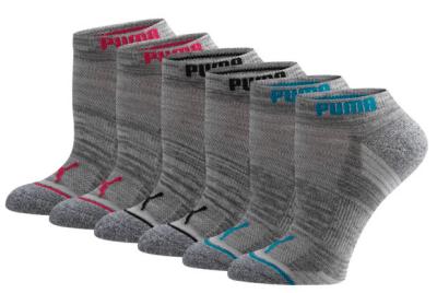 Puma : Women's Low Cut Side Hit Socks [6 Pack] Just $5.99 (Reg : $18)