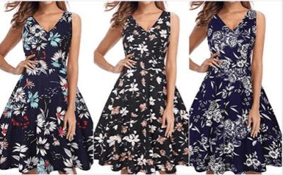 Amazon : Women's 50s 60s Vintage Swing Dress Just $9.20 W/Code (Reg : $22.99) (As of 8/17/2019 5.04 PM CDT)