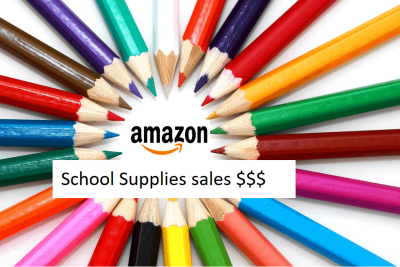 Amazon - Back To School Supplies are in sale now.